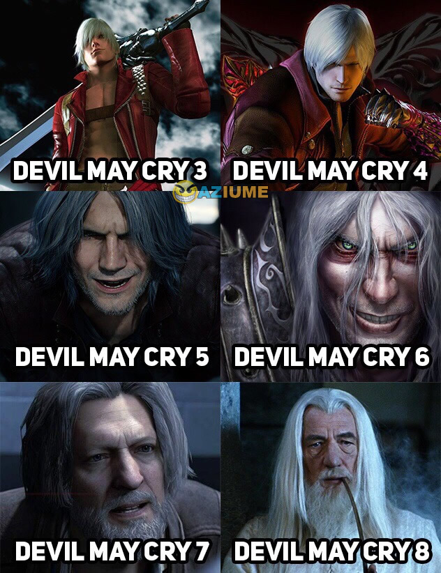 Evolução do Devil May Cry