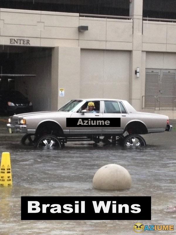 Problema na enchente