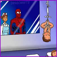 O que aconteceria se os super-heróis tivessem bebês