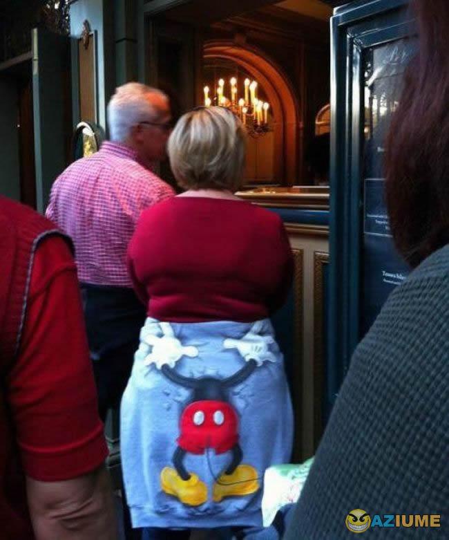 Cade a cabeça do Mickey