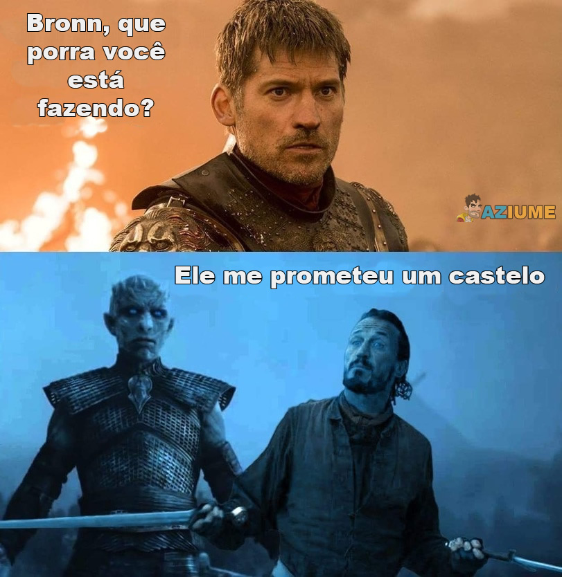 Bronn, que você está fazendo?