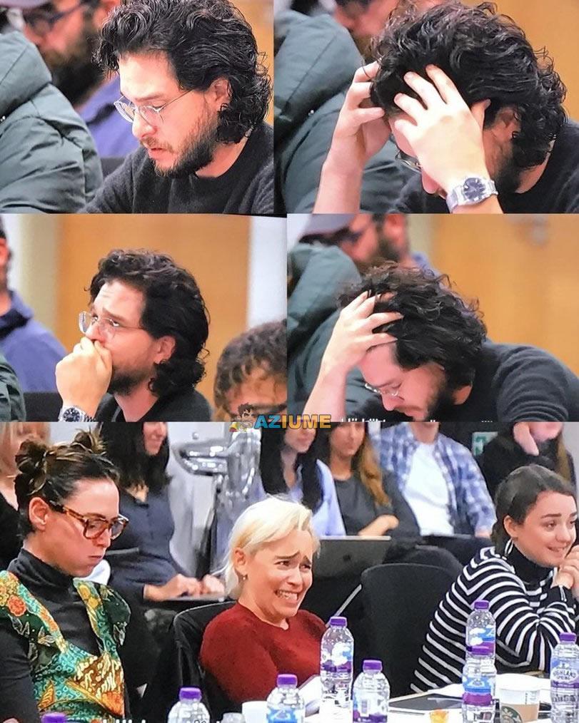 A reação de Keith Harington quando ele descobriu que ele deveria matar Daneris.