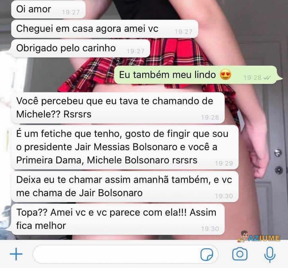 Desejo de ser Jair Bolsonaro