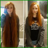 25 motivos para para doar seu cabelo. Antes e depois de pessoas que doaram seus cabelos para pessoas doentes