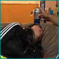 Quando você bebe um pouquinho a mais