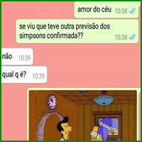 Previsão dos Simpsons