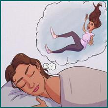 Por que às vezes temos a sensação de cair quando estamos dormindo?